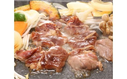 No.145 肉の山本セット 大 / ジンギスカン ラムロース ホルモン ハラミ 焼肉 北海道 人気