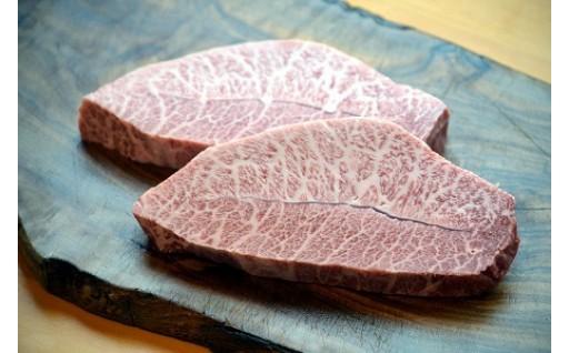 152.鳥取和牛 希少極上ロース みすじステーキ