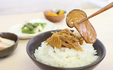 三豊市産竹の子・えのき茸使用 なめ茸珍味(松茸入り)ギフトセット 型番S-3