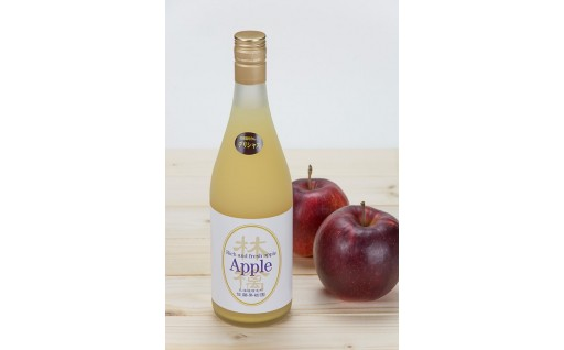 [A30-065]特別栽培りんごジュース【デリシャス】4本セット
