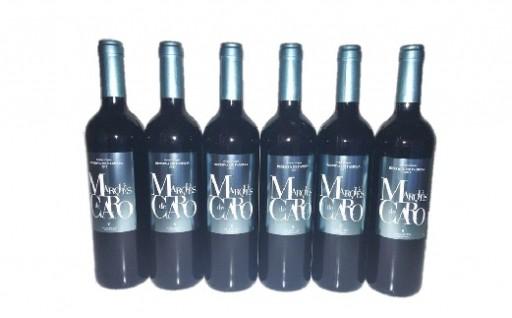 B301 スペイン産赤ワイン マルケスデカロレゼルバ6本セット
