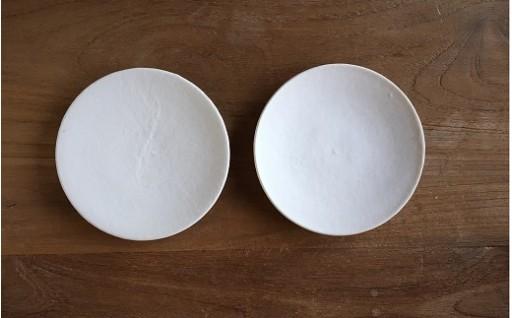 磁化粧菓子皿2枚組