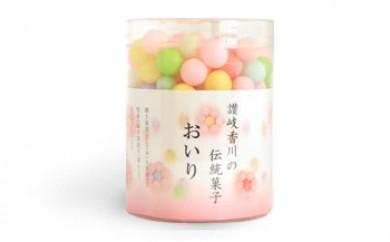 讃岐伝統の祝い菓子 おいり3個
