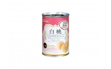 【お試し1缶】東北産 白桃缶詰