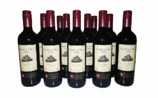 B303 スペイン産赤ワイン オレリアDO12本セット