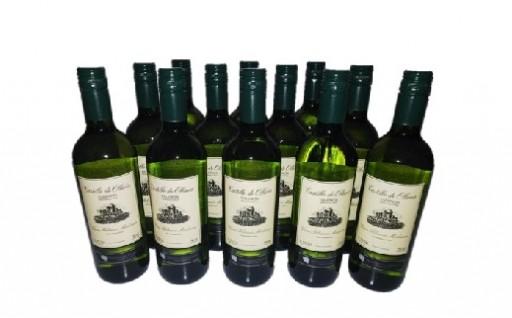 B302 スペイン産白ワイン オレリアDO12本セット
