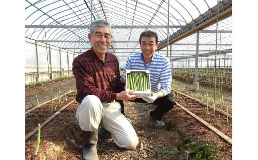 [0734]高知県黒潮町産グリーンアスパラ 1kg