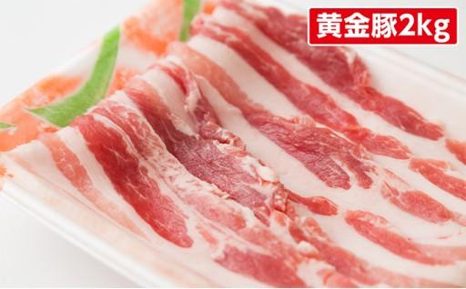 [№5525-0193]伊達産黄金豚バラスライスたっぷり2kg