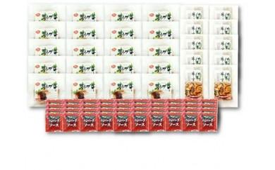 オリーブ牛 ハンバーグ20袋・牛すき丼10袋セット s-46