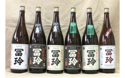 18-030.梅津酒造の飲み比べセットE(日本酒1.8L×6本)