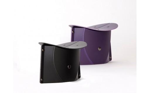折りたたみ正座椅子PATATTO SEIZA・同色2個セット 色:紫