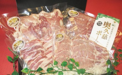 [№5799-0166]農場HACCP認証育ちの奥久慈ポーク精肉セット
