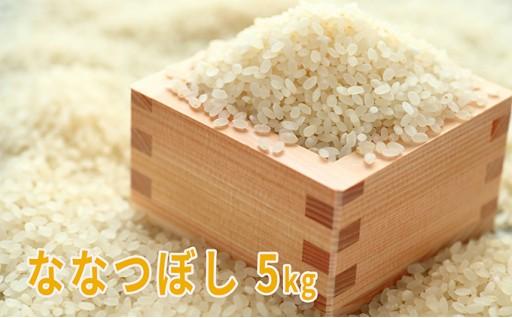 [№5543-0010]上富良野産米(ななつぼし)5kg