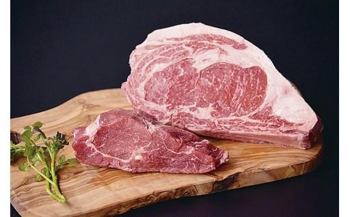 18-040.【熟成肉】鳥取和牛「mere Rouge(メア・ルージュ~母なる赤~)」ロースとヒレのステーキセット