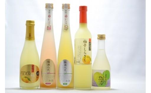 (391) 石岡地酒飲み比べセットG(リキュール)