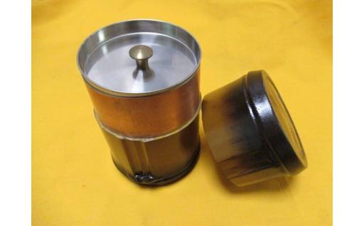 C30-653 竹塗茶筒