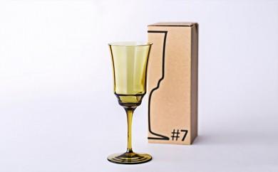 [№5791-0217]「杜の都・仙台ガラスコレクション」ワイングラス