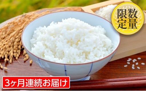 [№5805-2071]【3ヶ月連続】山形米(つや姫)5kg(+毎回おまけつき)×3回