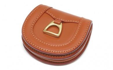 [№5665-0376]財布 馬蹄小銭入れ