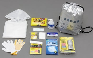 [№5791-0228]避難袋セット(12アイテム入)