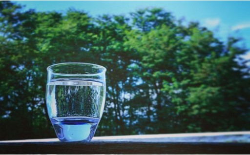 0010-21 名水グラス(ガラス器)