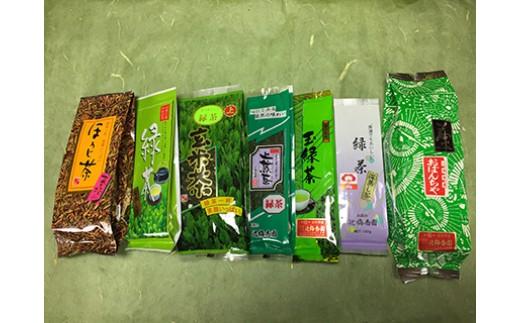 B-6 日本茶わいわいセット【辻梅香園】