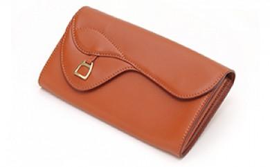 [№5665-0360]財布 鞍束入れ キャメル