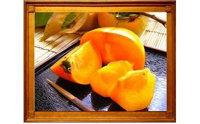 【 県認定エコファーマー からの贈り物】採れたてタネなし柿 Lサイズ