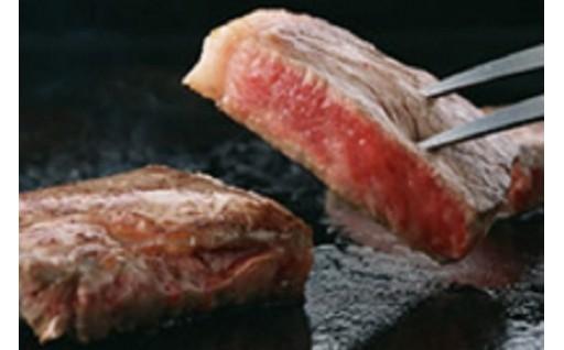 0022-101 山形牛ロースステーキ(100g×2枚)ステーキソース付き