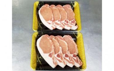 [№5890-0196]サロマ豚ロース肉 とんかつ用800g