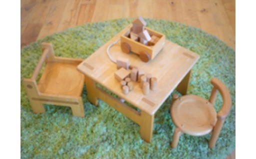 18504.【諸富家具】子ども家具と積み木