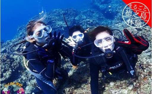 193 ~さぁ徳之島の海へ旅しよう~ダイビング体験(半日)