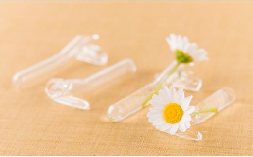 [3003801]西伊豆手づくりガラス「生花*はし置き」