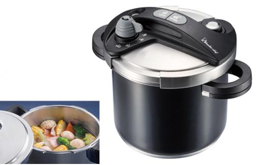 【68020】圧力鍋両手煮込み料理気圧切り替えスイッチIH対応おまけ付