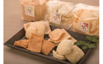 柔らか食感のおかき【かきもちキューブ】12種の詰め合わせギフト箱×1セット