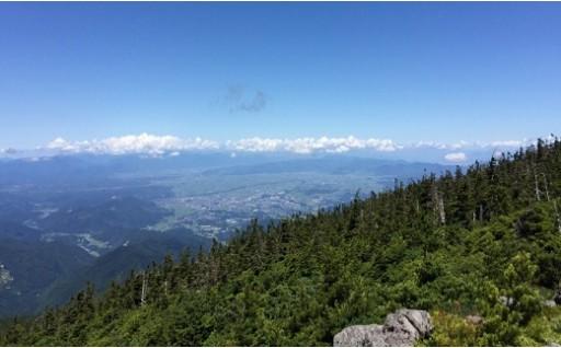 032-001【標高1,820m大自然の頂上へ!】夏山ロープウェイ&リフト共通往復券