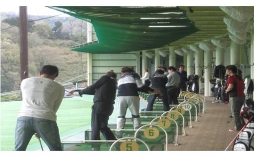 H06 ゴルフ練習場打ち放題券(10回分)