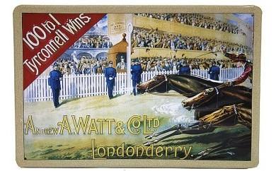 馬のメタルポスター Londonderryロンドンデリー