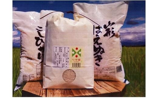 YZBH30-1【H30年産】 福福セット(はえぬき、つや姫、コシヒカリセット)