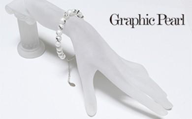 Graphic Pearl ブレスレット