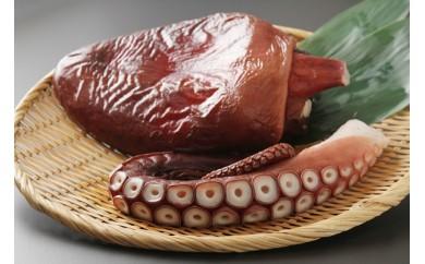 日高産 真ダコ茹で足&頭セット(ひだか漁組)