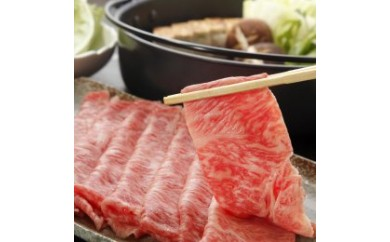 【A4ランク以上】長崎和牛サーロインすき焼き・しゃぶしゃぶ用(2~3人前)