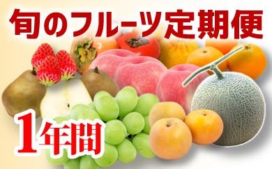 旬のフルーツ毎月お届け!【旬の味覚まるごとセット】1年間(12ヶ月)