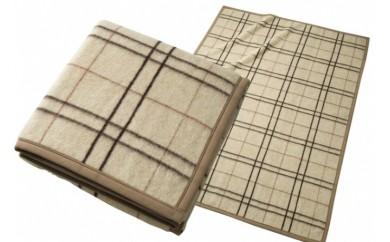 日本製 アルパカ毛布