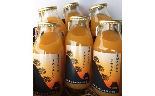 006-04秦野産みかんストレートジュース(6本)