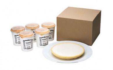 チーズケーキニルバーナ+ヨーグルト