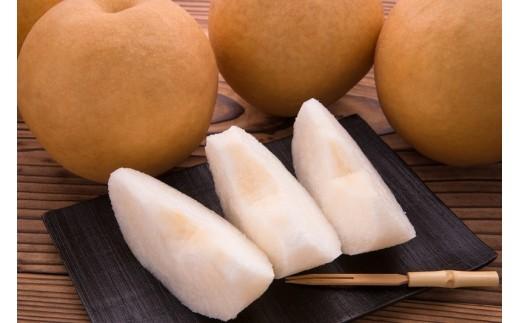 18-266.【品種はおまかせ】旬の赤梨セット3kg