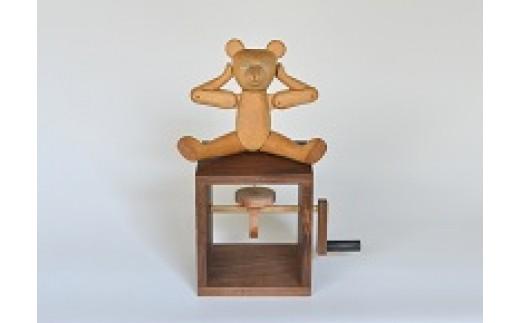 30B-040からくり人形「TEDDY BEAR]