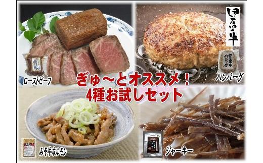 J175伊万里牛のぎゅ~とおススメ!4種おためしセット