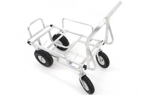 【町工場の技】アルミ製手押し四輪車 かるきち